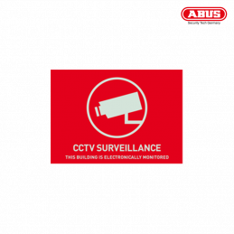 AU1313 Warning Sticker CCTV...