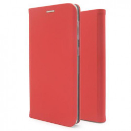 Θήκη Flip Book inos Apple iPhone 11 Curved S-Folio Κόκκινο