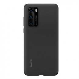 Silicon Cover Huawei P40 Μαύρο